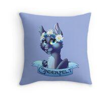 Cinderpelt Throw Pillow