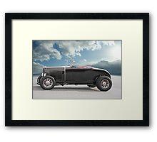 1932 Ford Roadster 'In Profile' Framed Print