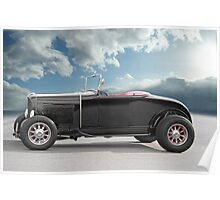 1932 Ford Roadster 'In Profile' Poster