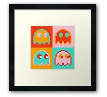 Pac-Man Ghost  Framed Print