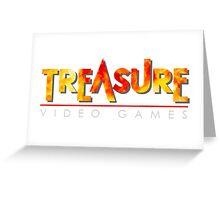 Treasure Logo Greeting Card