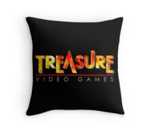 Treasure Logo Throw Pillow