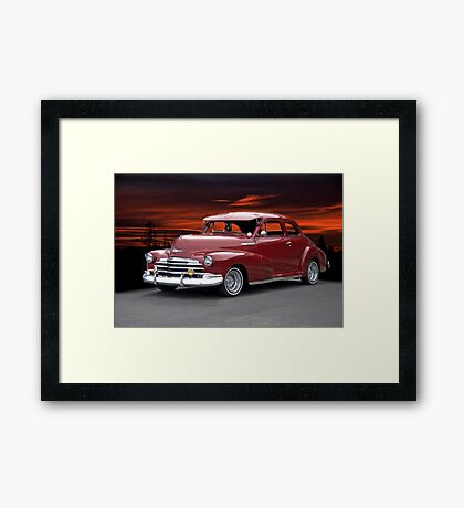 1947 Chevrolet 'Style Master' Coupe Framed Print