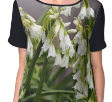Flower, Walled Garden Chiffon Top