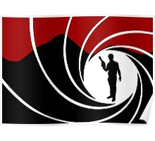 Han Solo - James Bond - Mix up - Death - Minimal - Star Wars - 007 - Black White Red Poster