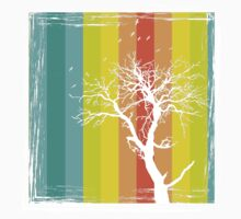 Tree and Color Range Baby Tee