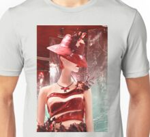 Lady Chocolate Portrait (made of chocolate) Unisex T-Shirt