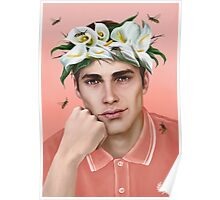 Flower King Poster
