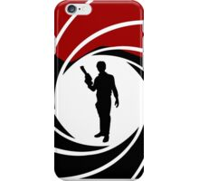 Han Solo - James Bond - Mix up - Death - Minimal - Star Wars - 007 - Black White Red iPhone Case/Skin