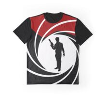 Han Solo - James Bond - Mix up - Death - Minimal - Star Wars - 007 - Black White Red Graphic T-Shirt