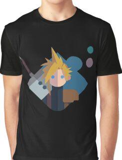Cloud FF Logo Graphic T-Shirt