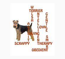 Welsh Terrier Crossword Puzzle T-Shirt