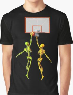 Skeleton basketball  Graphic T-Shirt