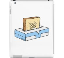 Toast in Tissue Box iPad Case/Skin