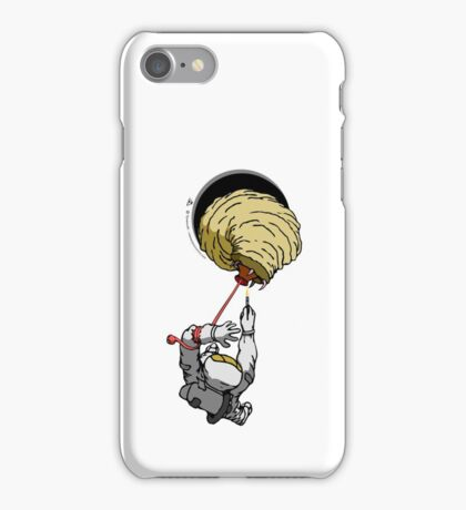 Anomaly & Astronaut - Space Maggot (OUTside) iPhone Case/Skin