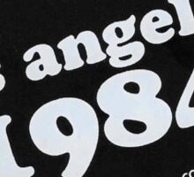 BRANDY MELVILLE LOS ANGELES 1984 STICKER Sticker