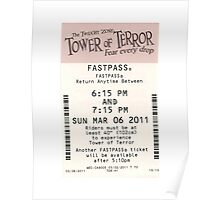 Tower of Terror Fastpass Poster