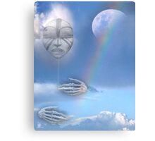 moon beam Canvas Print