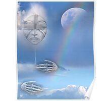 moon beam Poster