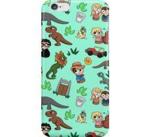 Jurassic Bits iPhone Case/Skin