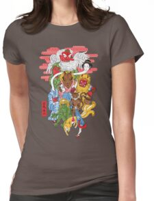 Monster Parade Womens Fitted T-Shirt