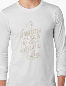 Smooth Sea  Long Sleeve T-Shirt