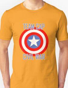 Civil War - Team Cap  T-Shirt