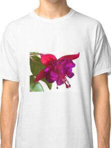 Fuschia Blossom Macro  Classic T-Shirt