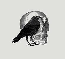 Raven Skull & Skeleton Key Unisex T-Shirt