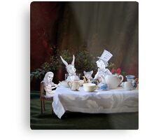Alice in Wonderland/The Tea Party Metal Print
