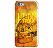 Hell Fire Fiery Skull Inferno Horror  Graphic iPhone Case/Skin