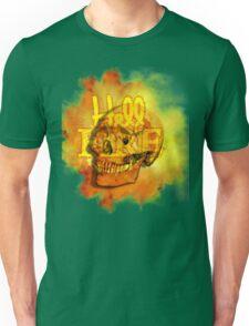 Hell Fire Fiery Skull Inferno Horror  Graphic Unisex T-Shirt