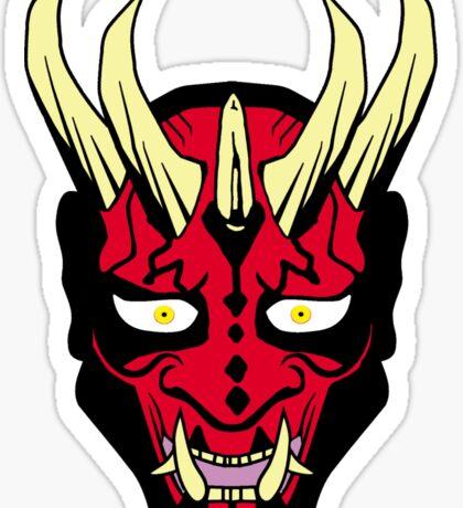 Oni Maul! II Sticker