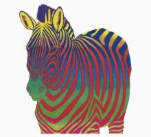 Psychedelic Zebra Baby Tee