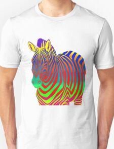 Psychedelic Zebra Unisex T-Shirt