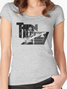 TIN LIZZY Women's Fitted Scoop T-Shirt