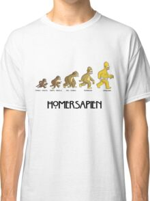 Homer Evolution Classic T-Shirt