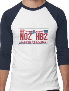 NO to HB2! Men's Baseball ¾ T-Shirt