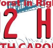 NO to HB2! Sticker