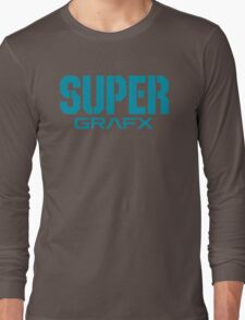 Super Grafx Logo Long Sleeve T-Shirt