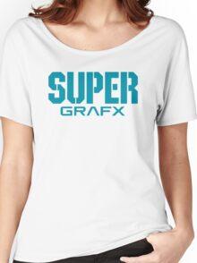 Super Grafx Logo Women's Relaxed Fit T-Shirt