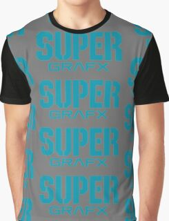 Super Grafx Logo Graphic T-Shirt