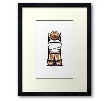 Gingerbread Hannibal Framed Print