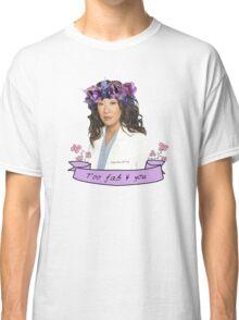 Cristina too fab Classic T-Shirt