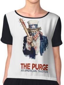 the Purge Chiffon Top