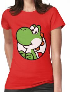 Yoshi Hello Womens Fitted T-Shirt