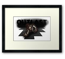 OUTLAST SQUIDDY Framed Print