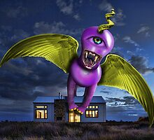 Purple People Eater by GolemAura