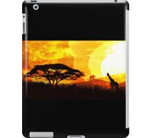Into Red Depths iPad Case/Skin