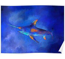 Kauderon V1 - beautiful swordfish Poster
